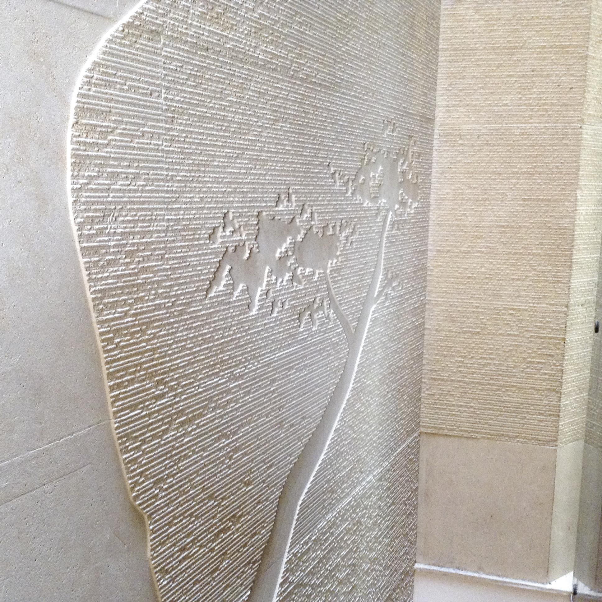 Milgem lavorazione marmi e graniti rivestimento parete - Parete di pietra ...