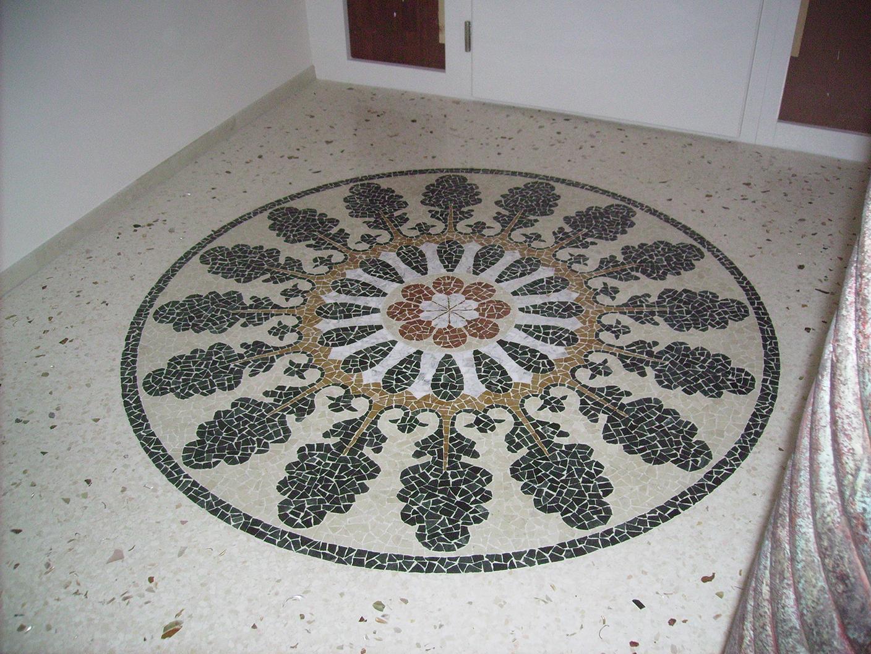 Milgem marmi milano mosaico e seminato for Veneziana pavimento