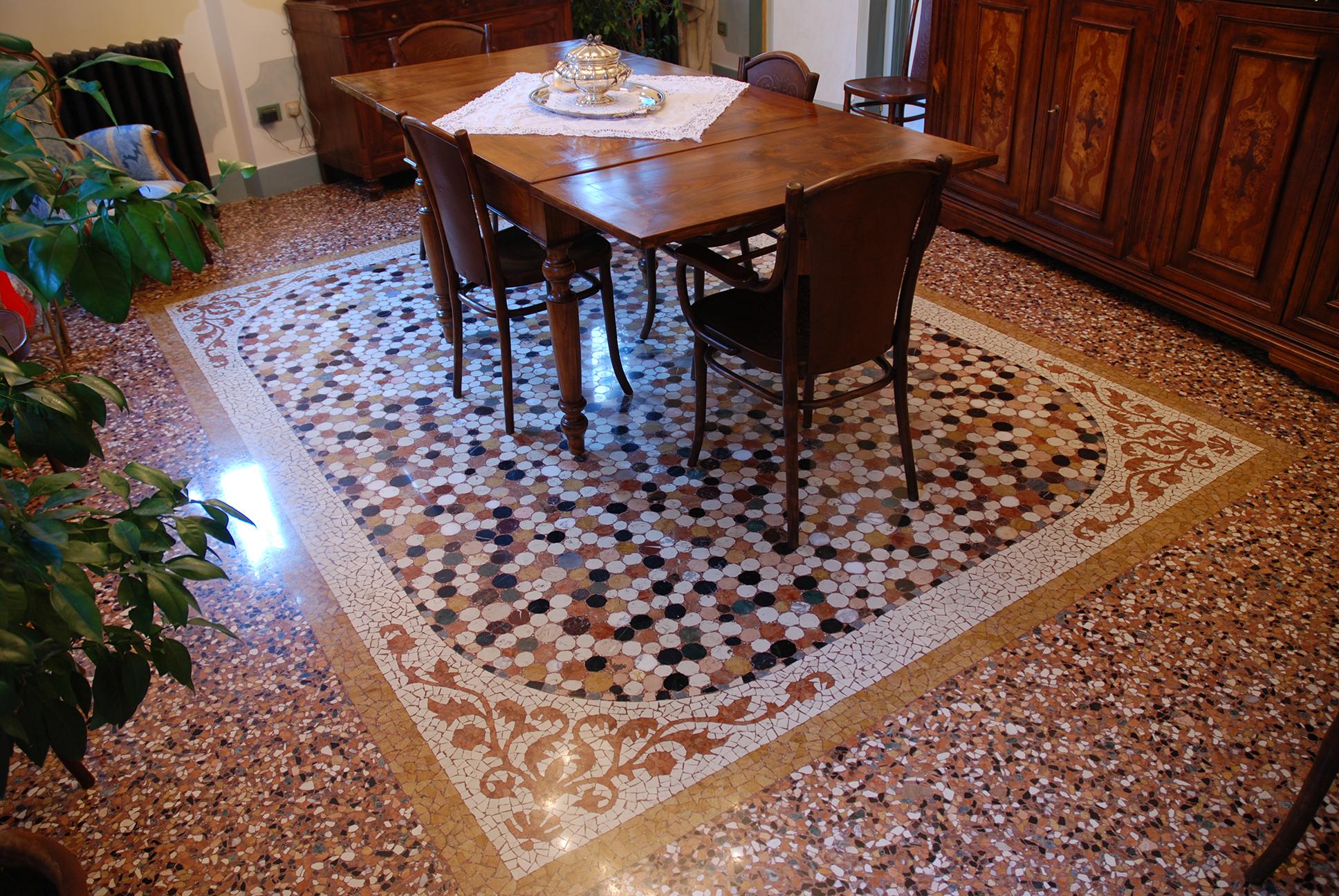 Piastrelle Seminato Alla Veneziana milgem | marmi e graniti milano
